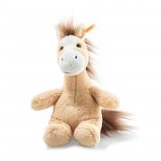 Steiff - Knopf im Ohr: Pferd Hippity, 18cm blond