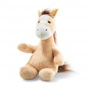 Steiff - Knopf im Ohr: Pferd Hippity, 28cm blond