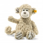 Steiff - Knopf im Ohr: Affe Bingo, 30cm beige