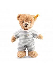 Steiff - Knopf im Ohr: Schlaf gut Bär Junge, 25cm grau