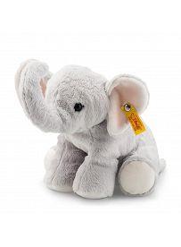 Steiff - Knopf im Ohr: Elefant Benny, 20cm grau