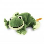Steiff - Knopf im Ohr: Frosch Cappy, 16cm Floppy