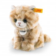 Steiff - Knopf im Ohr: Katze Lizzy, 20cm rot