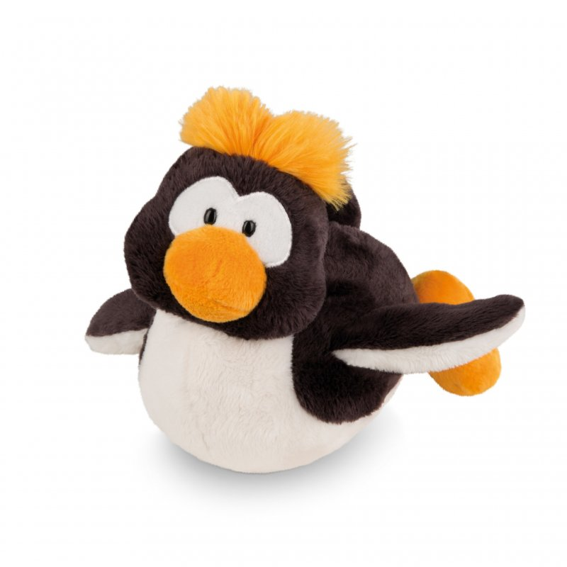 NICI Winter Friends: Pinguin Frizzy liegend, 20cm