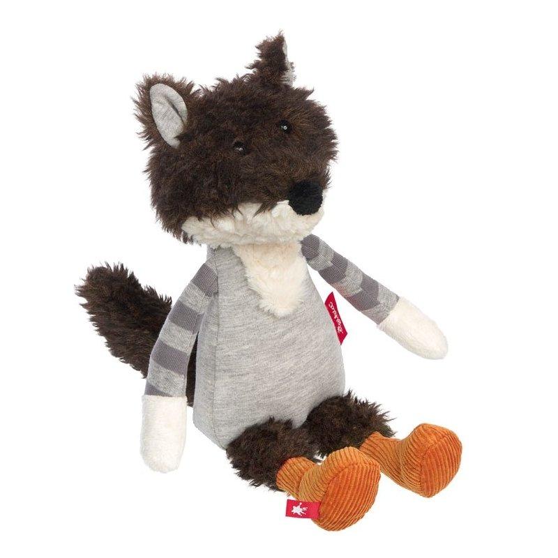 Wolf grau, 32cm | sigikid Patchwork Sweety Kuscheltier