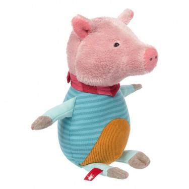 Schwein, 24cm | sigikid Patchwork Sweety Kuscheltier