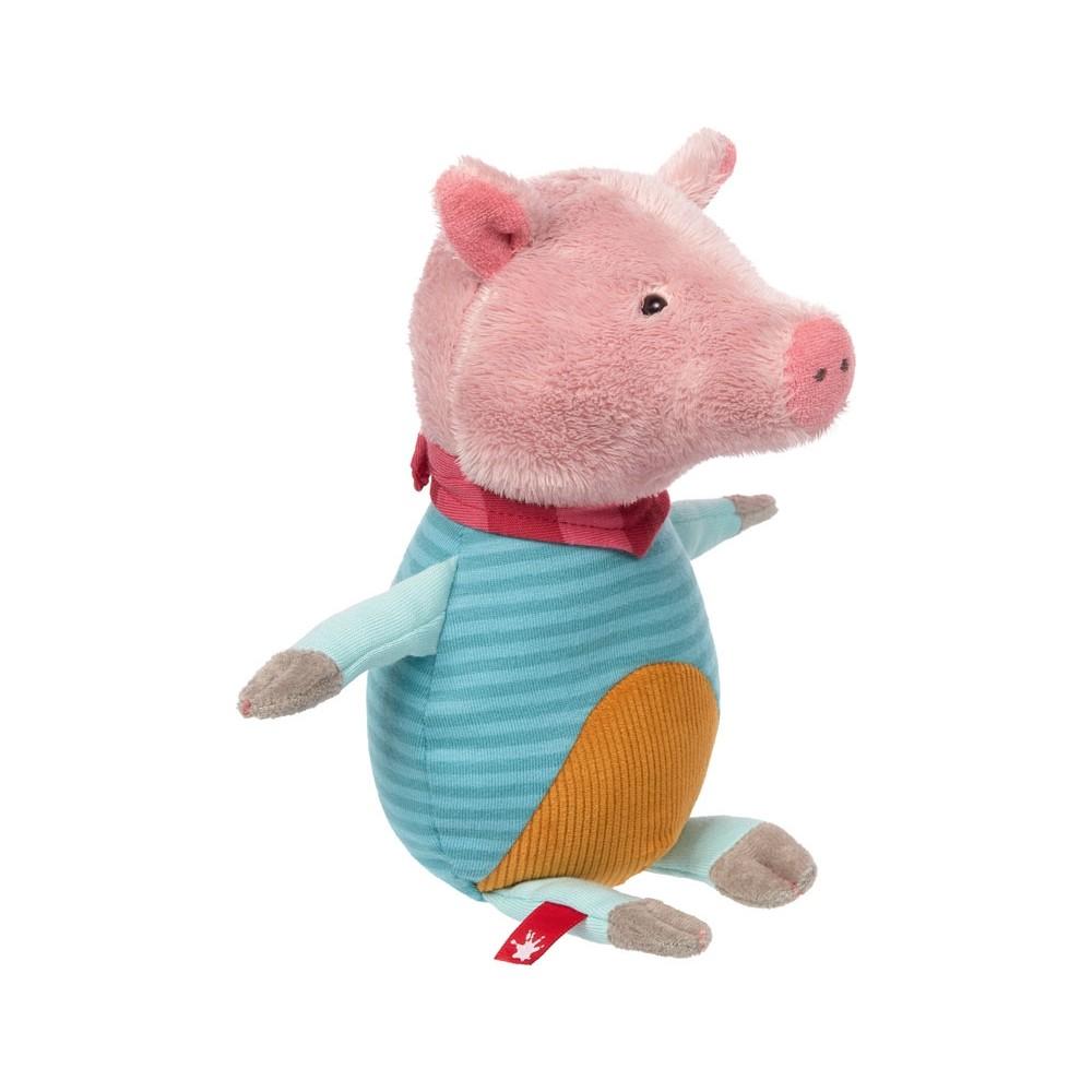 Schwein, 24cm   sigikid Patchwork Sweety Kuscheltier