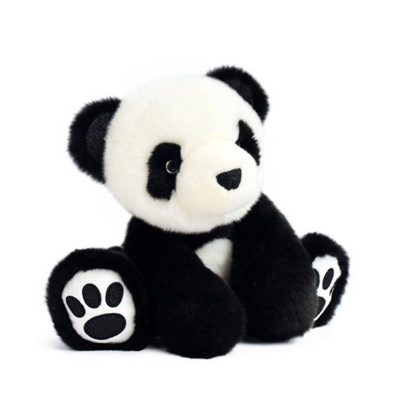 Panda schwarz, 25cm Histoire d'Ours