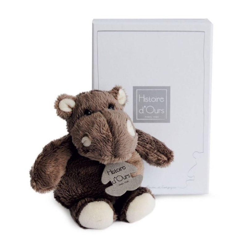 Nilpferd Hippo, 14cm Plüschtier im Karton Histoire d'Ours | Kuscheltier.Boutique