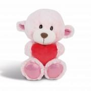 NICI Teddybären: Bären Mädchen mit Herz, 20cm rosa