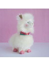 Lama, weiß 20cm Histoire d'Ours | Kuscheltier.Boutique