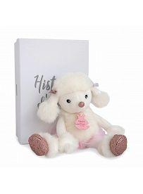 Pudel Roxanne, 23cm Plüschtier im Karton Histoire d'Ours | Kuscheltier.Boutique