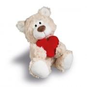 NICI Teddybären: Bär love creme, 20cm