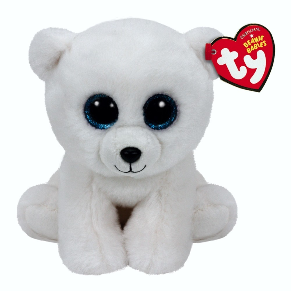 Eisbär Arctic, 15cm   Ty Beanie Babies Classic Kuscheltier