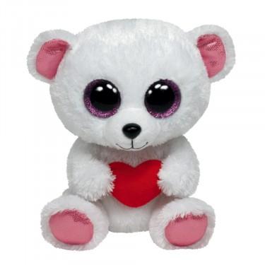 Eisbär Sweetly, 15cm | Ty Beanie Boo's