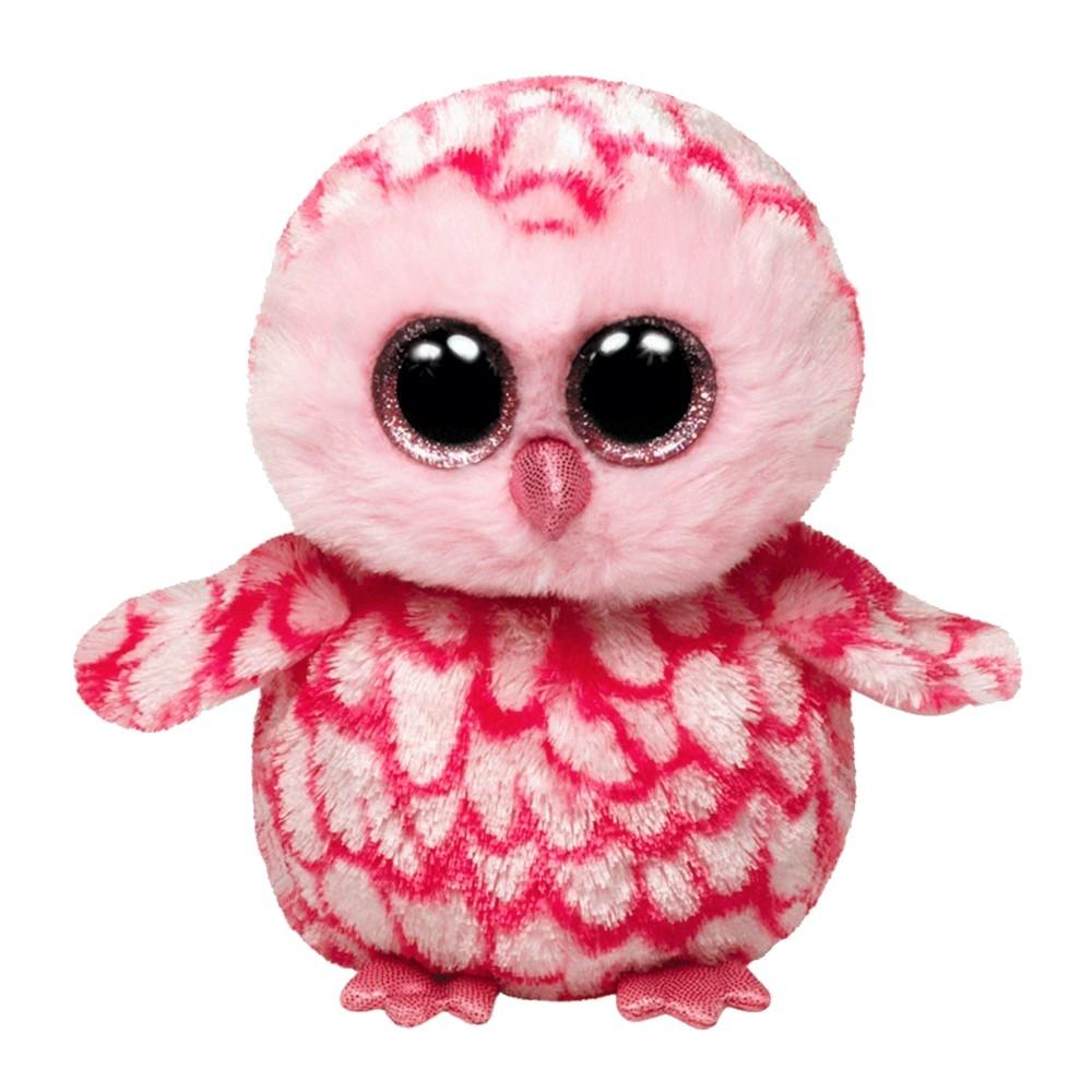 Eule Pinky, 15cm | Ty Beanie Boo's