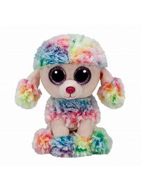 Pudel Rainbow, 15cm | Ty Beanie Boo's