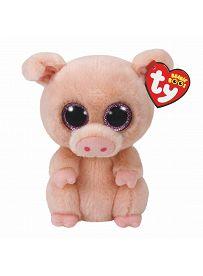 Ty Beanie Boos Plüschtiere: Schwein Piggley, 15cm   Kuscheltier.Boutique