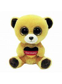 Ty Beanie Boos Plüschtiere: Teddybär Germany, 15cm   Kuscheltier.Boutique