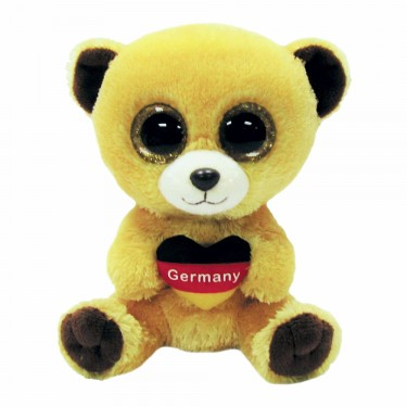 Teddybär Germany, 15cm   Ty Beanie Boo's