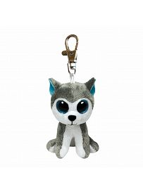 Ty Beanie Boos Plüschtiere: Husky Slush, Anhänger | Kuscheltier.Boutique