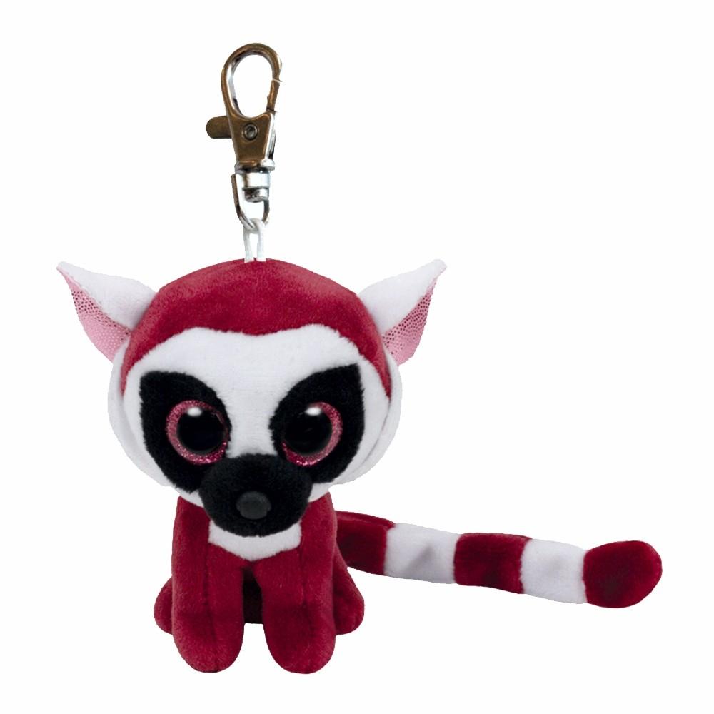 Lemur Leeann, 10cm | Ty Beanie Boo's Schlüsselanhänger