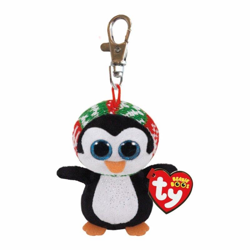 Pinguin Penelope, 10cm | Ty Beanie Boo's Schlüsselanhänger