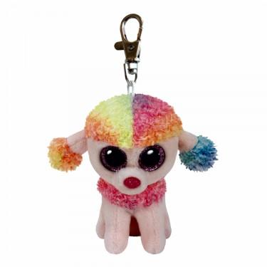 Pudel Rainbow, 10cm | Ty Beanie Boo's Schlüsselanhänger