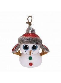 Ty Beanie Boos Plüschtiere: Schneemann Buttons, Anhänger | Kuscheltier.Boutique