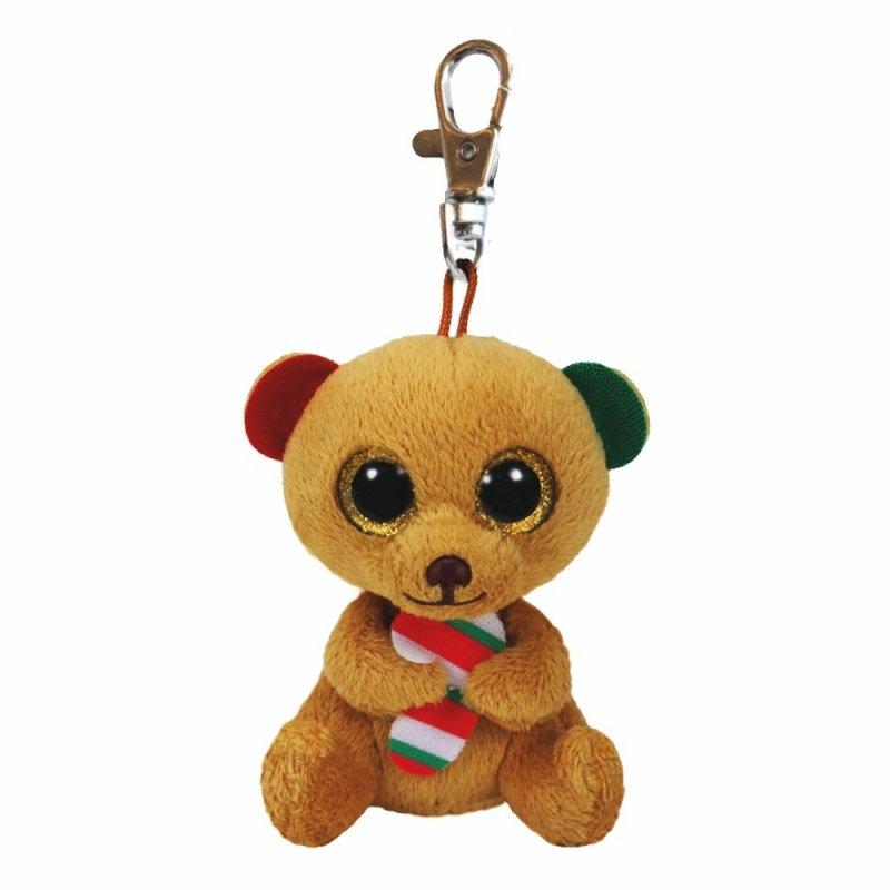 Teddybär Bella, 10cm | Ty Beanie Boo's Schlüsselanhänger