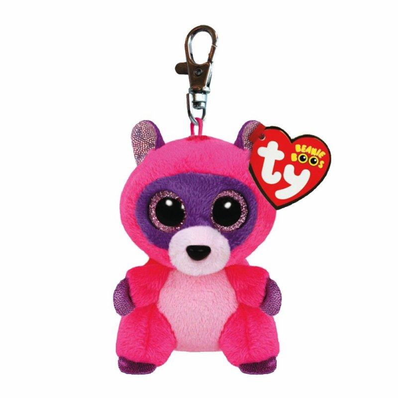 Waschbär Roxie, 10cm | Ty Beanie Boo's Schlüsselanhänger