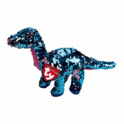 Dinosaurier Tremor, 15cm türkis - rosa | Ty Flippables