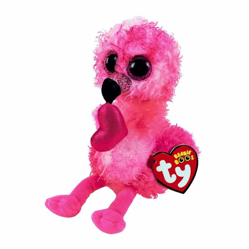 Flamingo Dainty, 15cm | Ty Beanie Boo's