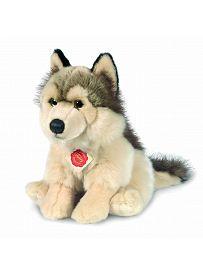 Teddy Hermann Collection: Plüschtier Wolf sitzend, 29cm   Kuscheltier.Boutique