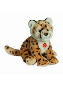 Teddy Hermann Collection: Plüschtier Gepard sitzend, 26cm   Kuscheltier.Boutique
