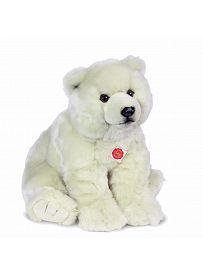 Teddy Hermann Collection: Plüschtier Eisbär sitzend, 50cm | Kuscheltier.Boutique