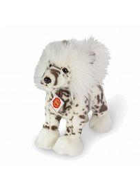 Teddy Hermann Collection: Plüschtier Schopfhund weiß, 25cm | Kuscheltier.Boutique