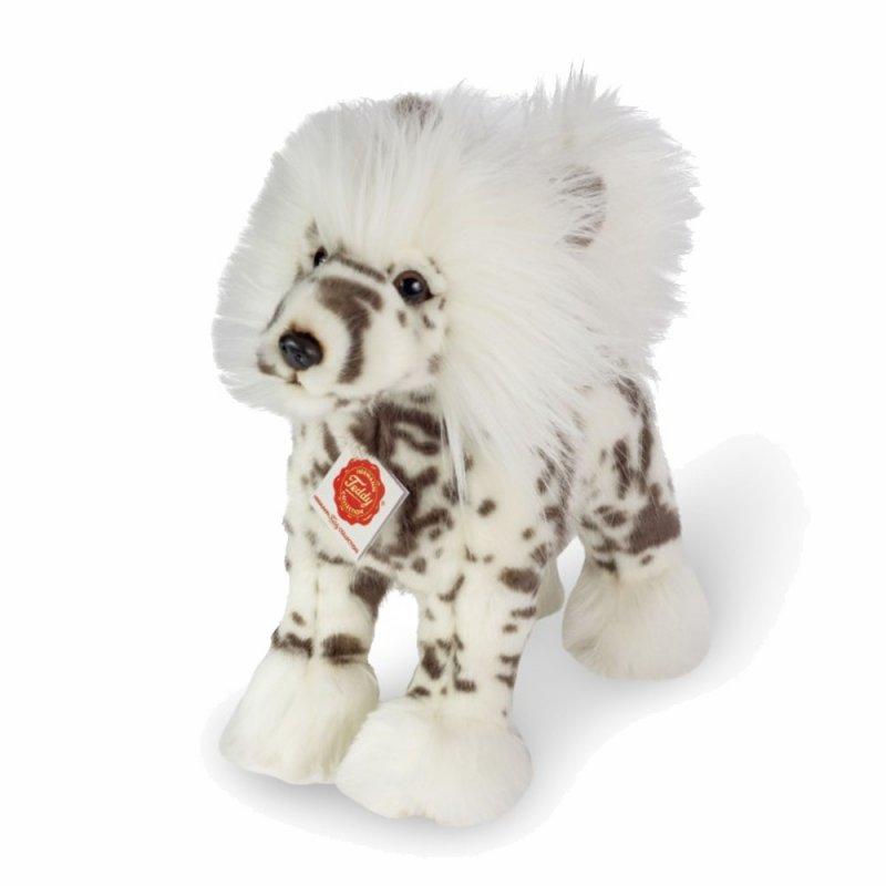 Schopfhund weiß, 25cm | Teddy Hermann Collection