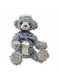 Teddybär Samuel, 30cm   Silver Tag Bears von Suki Gift England