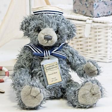 Teddybär Samuel, 30cm | Silver Tag Bears von Suki Gift England