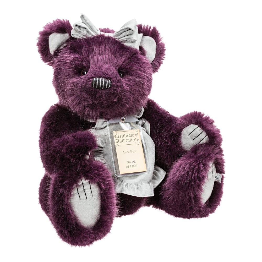 Teddybär Alice, 32cm   Silver Tag Bears von Suki Gift England