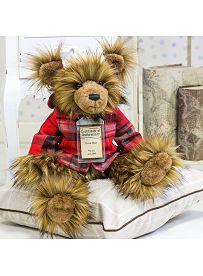 Teddybär Oscar, 30cm   Silver Tag Bears von Suki Gift England