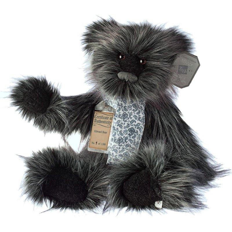 Teddybär Edward, 35cm | Silver Tag Bears von Suki Gift England