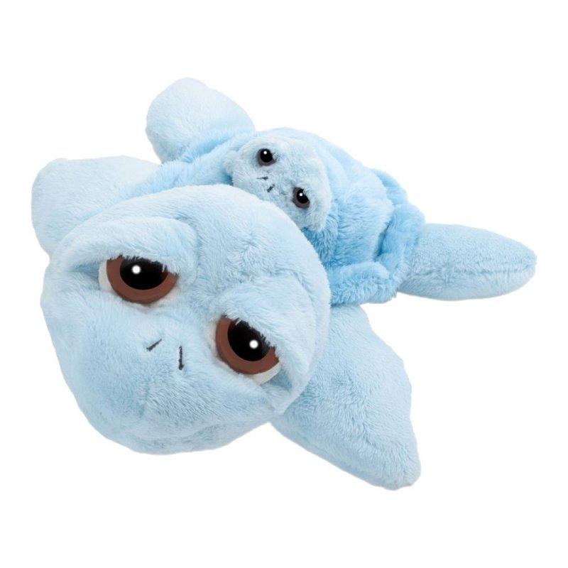 Schildkröte Reef, 24cm mit Baby   LiL Peepers Kuscheltier der englischen Marke SUKIgift