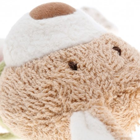 Hase, rosa Schmusetuch Detail Gesicht | sigikid GREEN Bio Collection