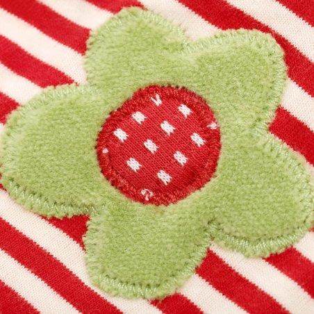 Schaf mit Blüte, Schmusetuch Detail Applikation | sigikid GREEN Bio Collection