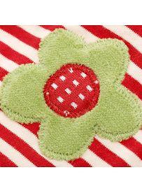 Schaf mit Blüte, Spieluhr Detail Applikation  sigikid GREEN Bio Collection