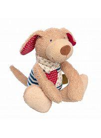 Kuscheltier Hund mit Herz, 24cm | sigikid GREEN Bio Collection
