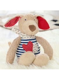 Kuscheltier Hund mit Herz, Stimmungsbild| sigikid GREEN Bio Collection