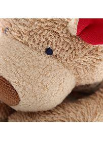 Schmusetuch Hund mit Herz, Materialdetail   sigikid GREEN Bio Collection